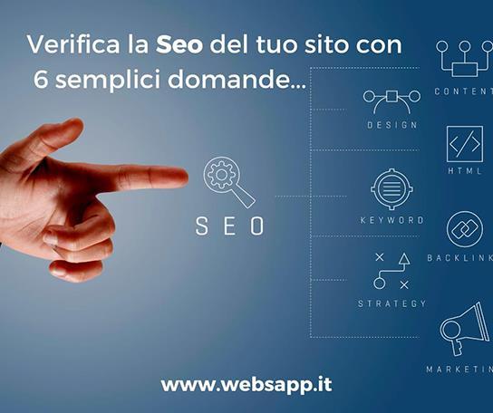 la seo e il posizionamento del sito web - Websapp.it