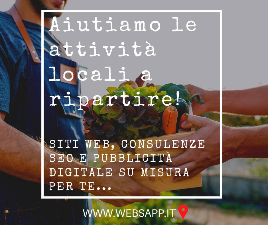 Aiutiamo le piccole e medie Attività a ripartire sul Web
